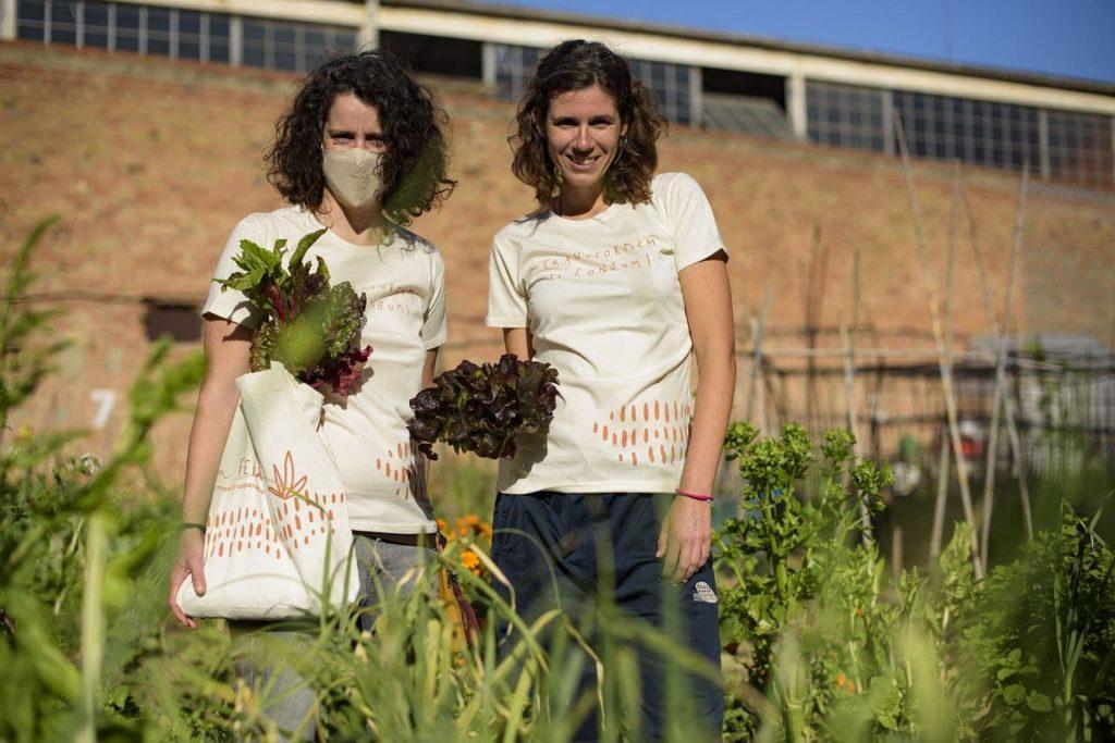 Núria i Susa a Can Fugarolas. Foto: Xavi Macià.
